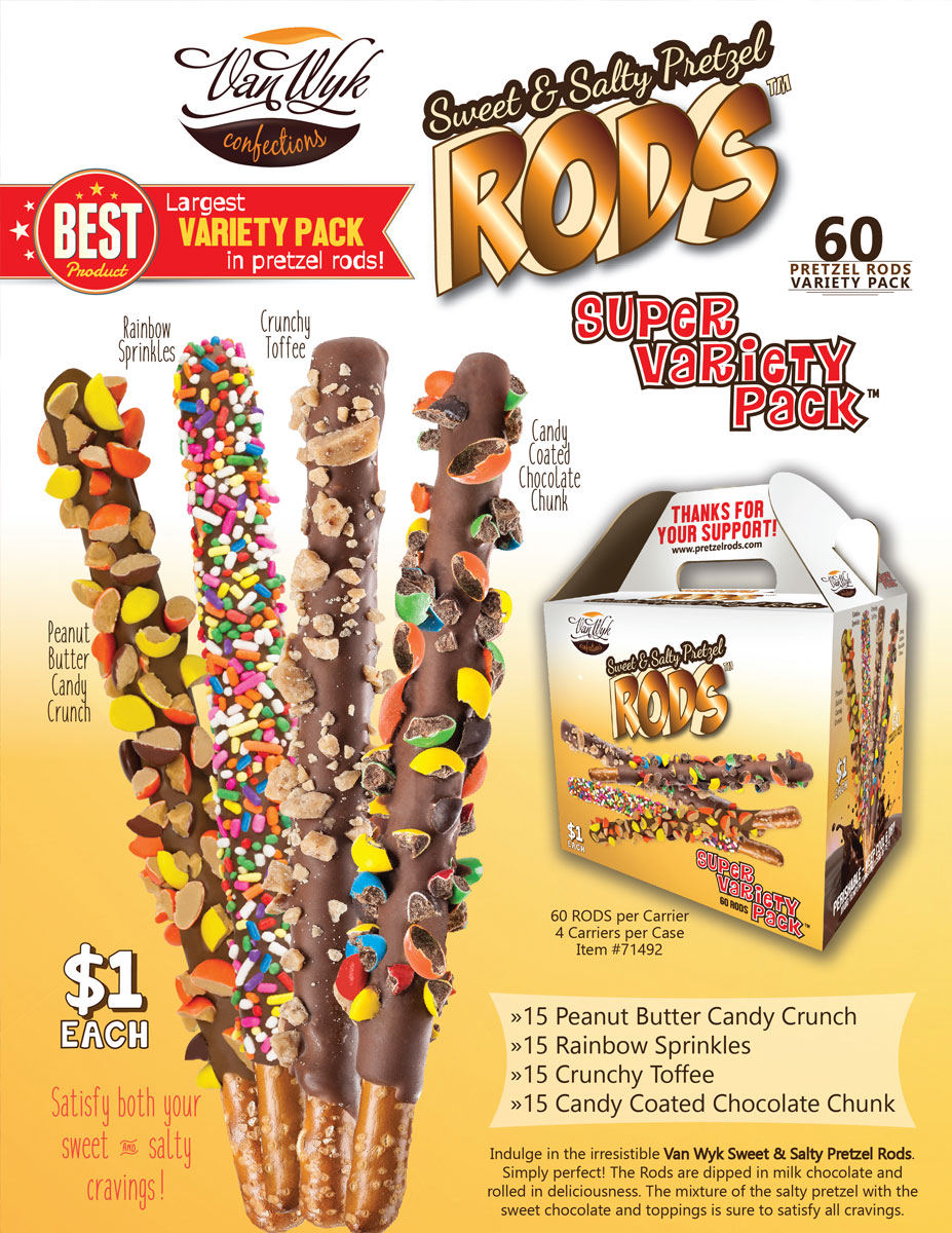 2018 Pretzel Rods Brochure